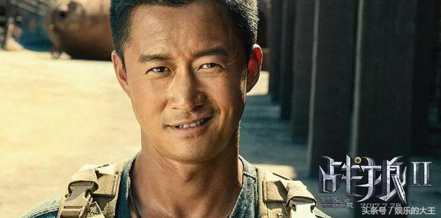 《战狼2》在日本上映的海报爆出,网友:我可能看了假的战狼!